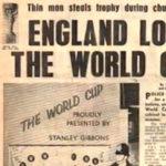 El primer robo de la Copa del Mundo