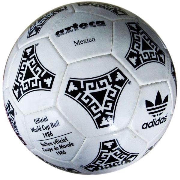 Ya que vaso Desaparecido  1986 ADIDAS AZTECA - MEXICO 86 - Balones de Mundiales