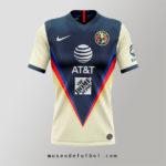 Como es la Camiseta del Club América  2020/21