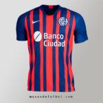 Como es la Camiseta de San Lorenzo 2020