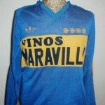 La Camiseta de Boca del Año 1983 Vinos Maravilla